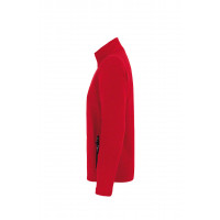 Hakro Fleecejacke Langley, Farbe rot, Größe XL