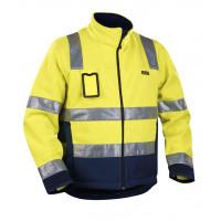 Blåkläder High Vis Fleece-Jacke Winddicht Kl. 3, 48392545