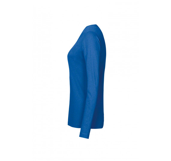 Hakro Damen-Longsleeve Performance, Farbe royalblau, Größe M