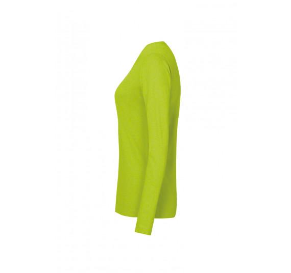 Hakro Damen-Longsleeve Performance, Farbe kiwi, Größe 4XL