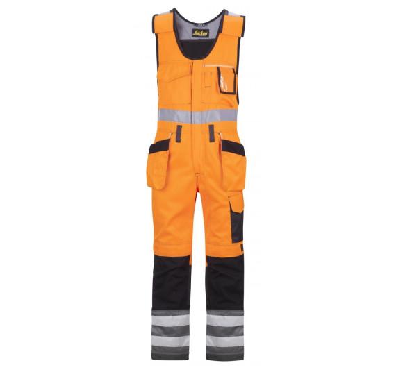 Snickers Workwear High-Vis Kombi-Arbeitshose m. Holstertaschen, Klasse 2, 0213