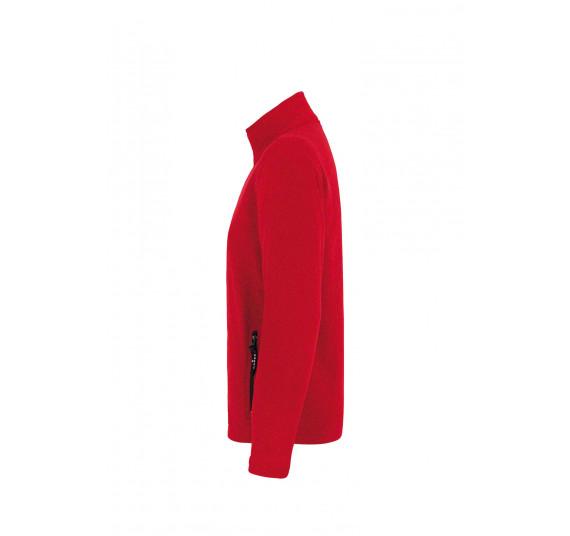 Hakro Fleecejacke Langley, Farbe rot, Größe L