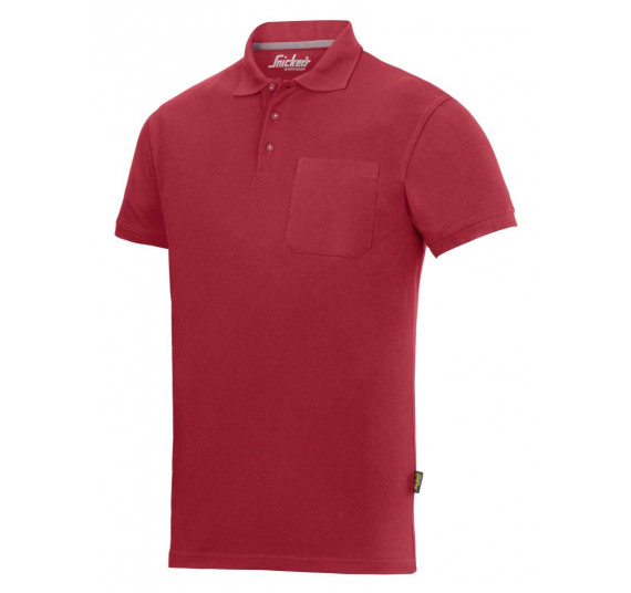 Snickers Workwear Polo Shirt, 2708, Farbe Chili Red/Base, Größe S