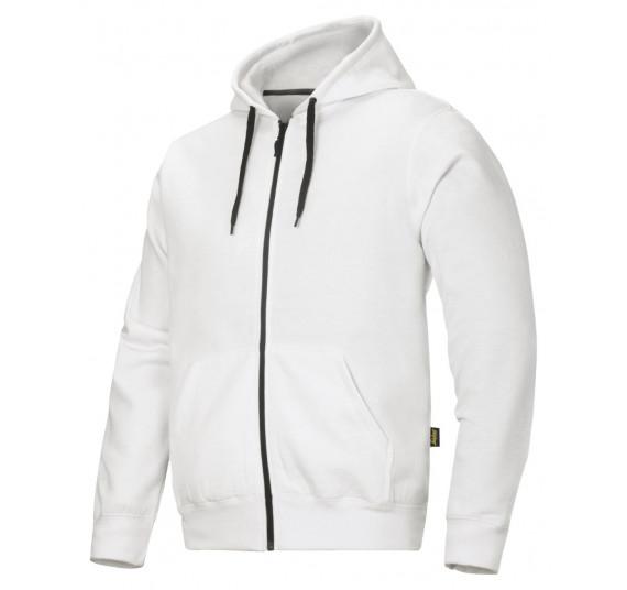 Snickers Workwear Hoodie mit Reißverschluss, 2801, Farbe White/Base, Größe M