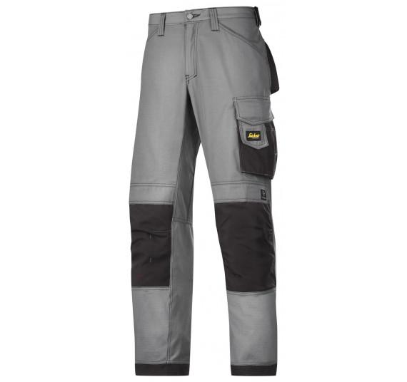 Snickers Workwear Handwerker Arbeitshose, Rip-Stop, 3313, Farbe Grey/Black, Größe 50