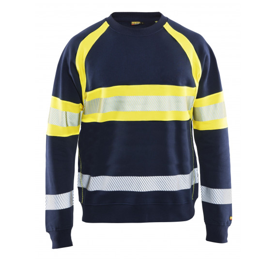 Blåkläder Highvisibility sweatshirt class 1, 33591158