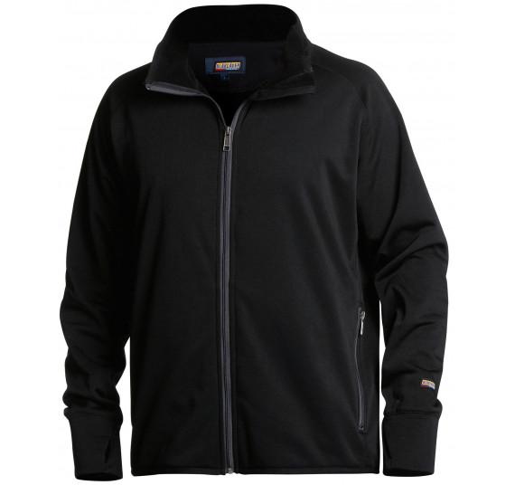 Blåkläder Fleecejacke, 48442522, Farbe Schwarz, Größe XXXL