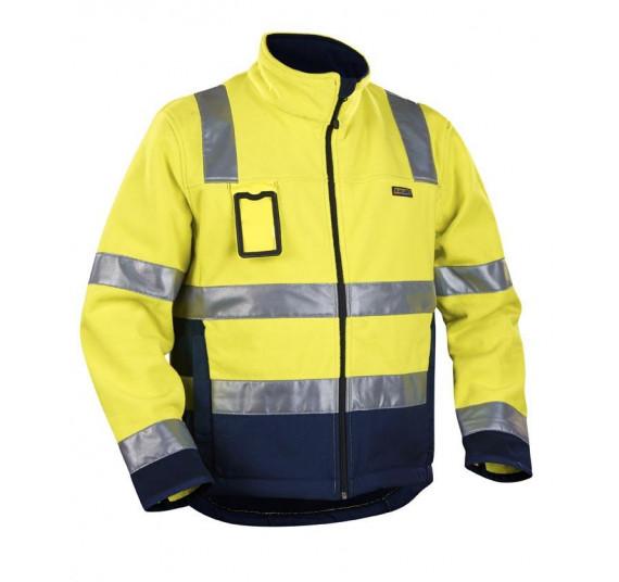 Blåkläder High Vis Funktionsjacke Fleecejacke Winddicht Kl. 2, 48492545