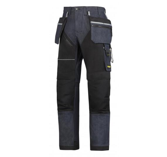 Snickers Workwear RuffWork Denim Arbeitshose+, m. HP, 6204
