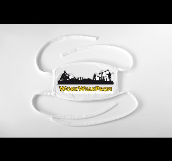 Gesichtsmaske mit Logo / Motiv individuell bedruckt